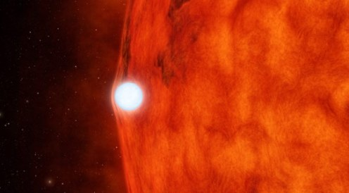 Kepler Views the Effects of a Dead Star Bending the Light of its Companion Star